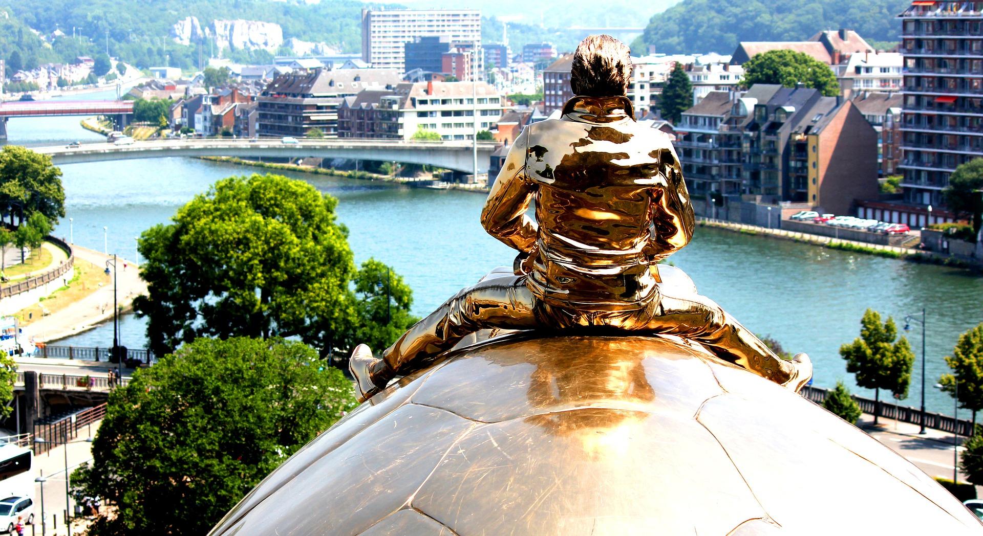 Journée à  Namur: visite de Nathalie – Juin 2017