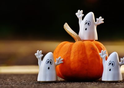 Préparation d'Halloween – Octobre 2017