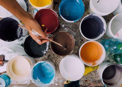 Activité peinture pour les enfants – Janvier 2019