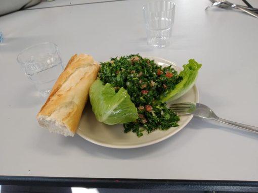 Activité cuisine- spécialité libanaise – Mars 2019